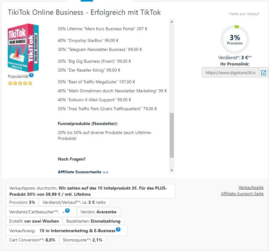 TikTok Online Business